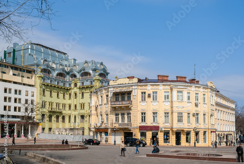 Odessa city center. Ukraine