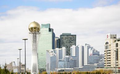 Астана, столичный пейзаж