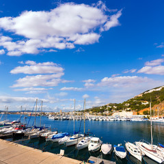 Javea Xabia marina Club Nautico in Alicante Spain