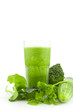 Healthy green smoothie, mix vegetable