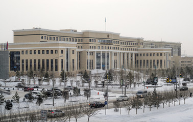 Астана, здание МИД