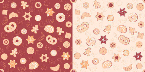 Patterns of confectionary items