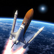 Space Shuttle Solid Rocket Boosters Separation - 63451884