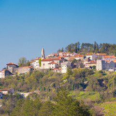 Village of Stanjel, Slovenia, Europe.