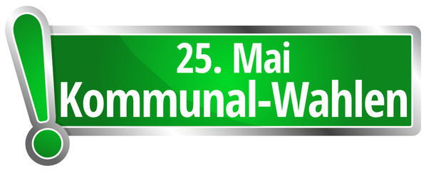 Kommunalwahlen 25. Mai 2014
