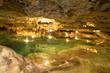 Cenote in a grotto