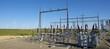 Leinwandbild Motiv Electrical substation
