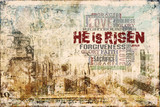 He is risen Religious Background - 63454031