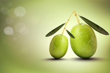 Oliva grande e oliva piccola