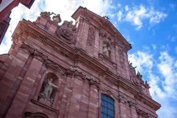 Jesuiten church in Heidelberg