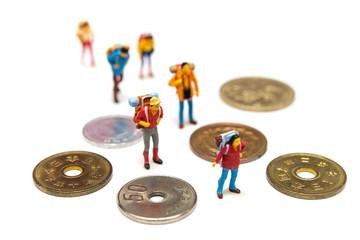 コインと旅人