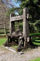 La tour de pacoret.Pressoir.Savoie