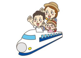家族 旅行 新幹線