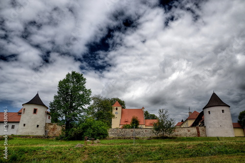 The fortress Zumberk in South Bohemia 2