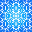 blue ottoman decorative background version one