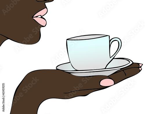 Come un chicco di caffè - un buon caffè brasiliano