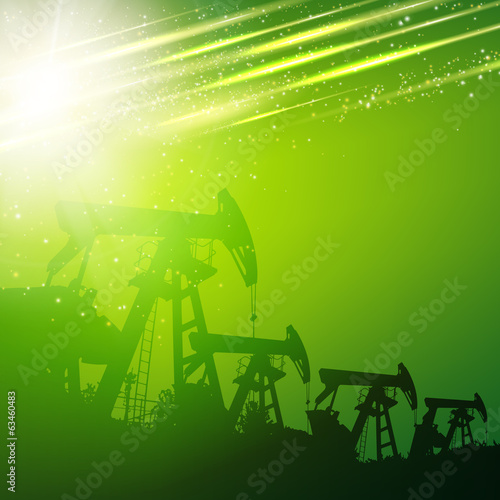Green oil pump