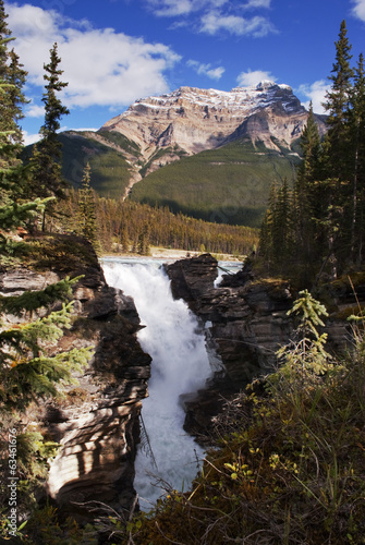 Athabaska waterfalls
