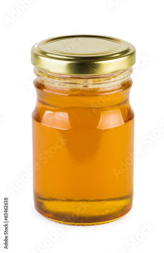 Full jar of honey