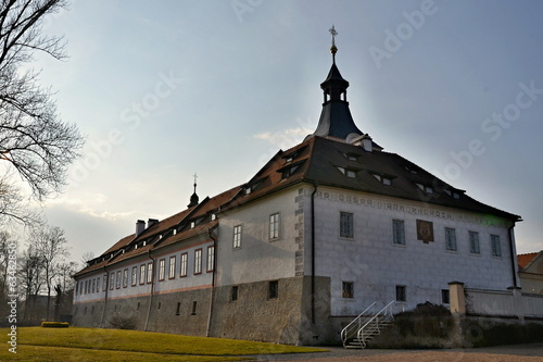 Castle in Dobrichovice near Prague