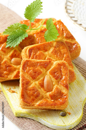 Dutch almond squares