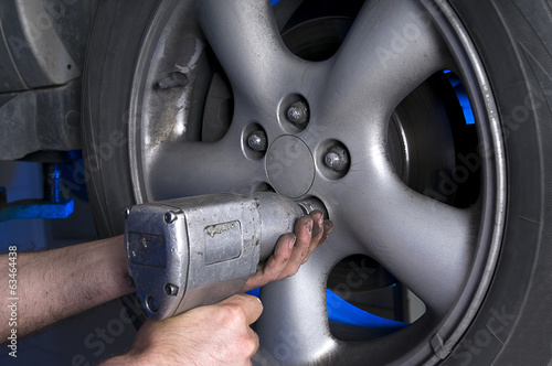 Removing Wheel Nuts