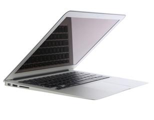 Modern popular light laptop widescreen screen