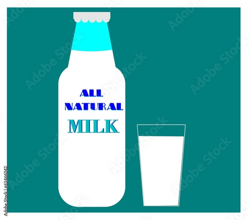 milk concept background
