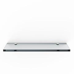 Glass Shelf isolated on white background