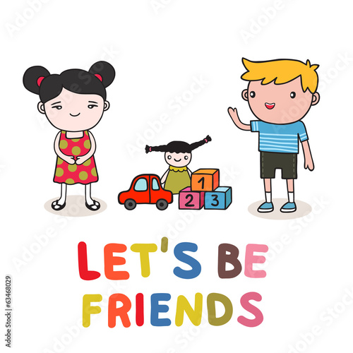 kids friendship