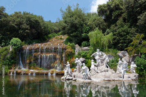 Fountain of Diana and Actaeon, Royal Palace, Caserta, Italy