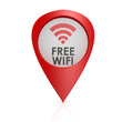 Free wifi red pointer