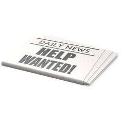 Newspaper help wanted