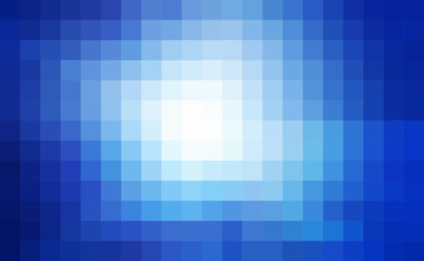 abstract square pixel mosaic