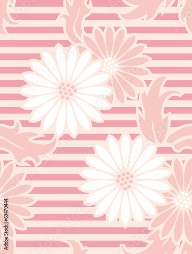 pattern of gerbera.