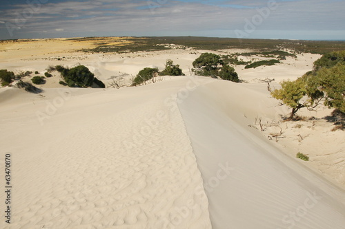 Dunes in Nambung National Park