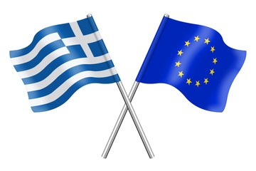 Flags : Europe and Greece