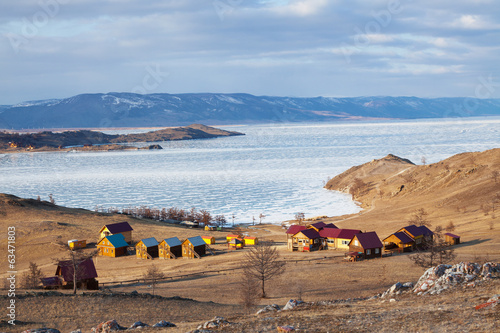 Baikal, Small sea ice crossing