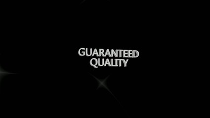 Guaranteed quality logo rotation