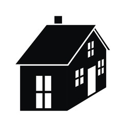 house - black