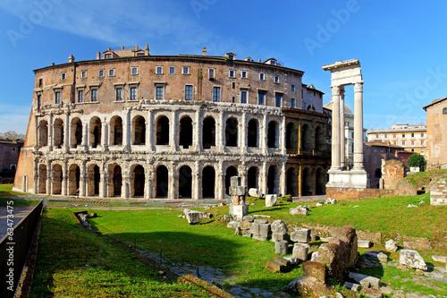 Fototapeta Teatro di Marcello. Theatre of Marcellus. Rome. Italy