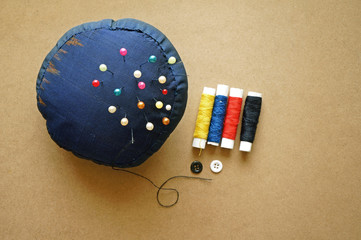 Sewing items with a vintage feel