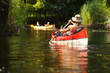 People boating on river