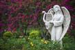 Sculpture of angel in Park - 63475436