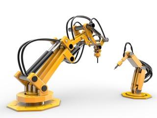 Roboter und Technik