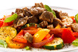 Stew - roast meat and vegetables