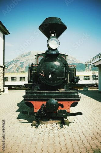 Steam Locomotive In Bar, Montenegro