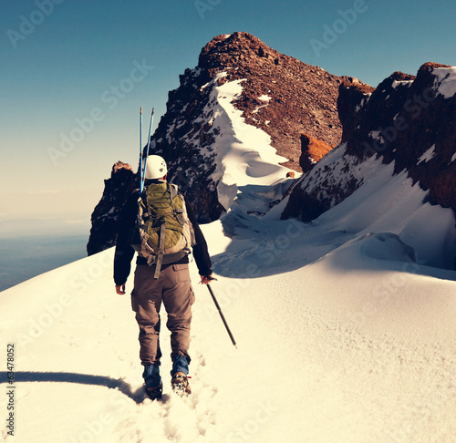 Leinwandbild Motiv Climb