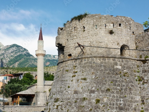 Stari Bar Fortress And Mosque, Montenegro
