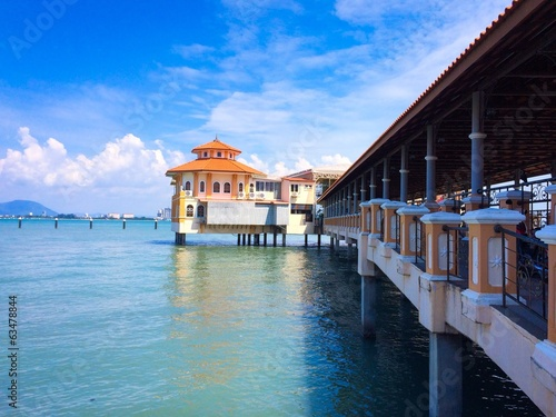 Church Street Pier in Georgetown Penang